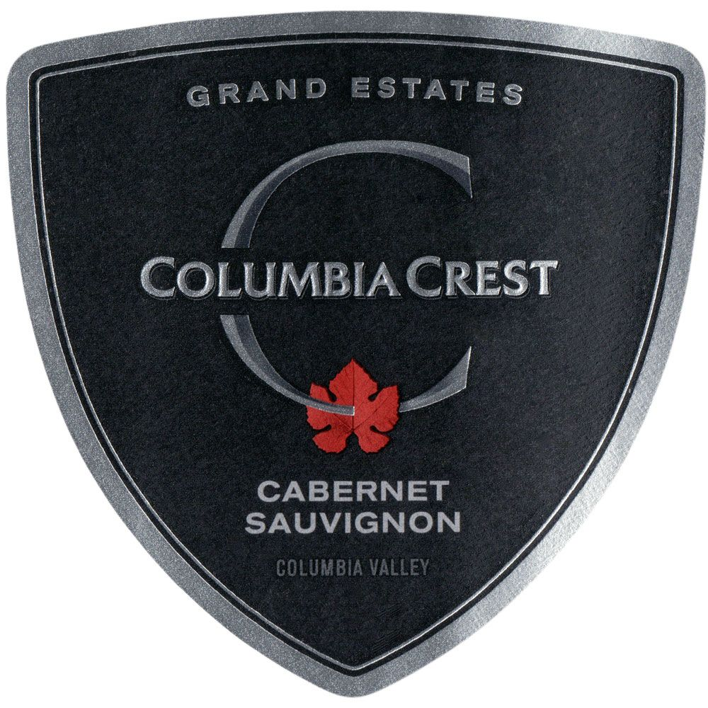 Columbia Crest Grand Estates Cabernet Sauvignon 2016 Front Label