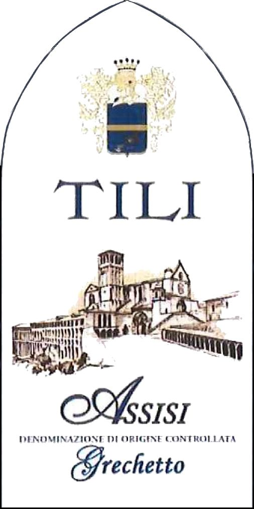 Tili Vini Assisi Grechetto 2015 Front Label