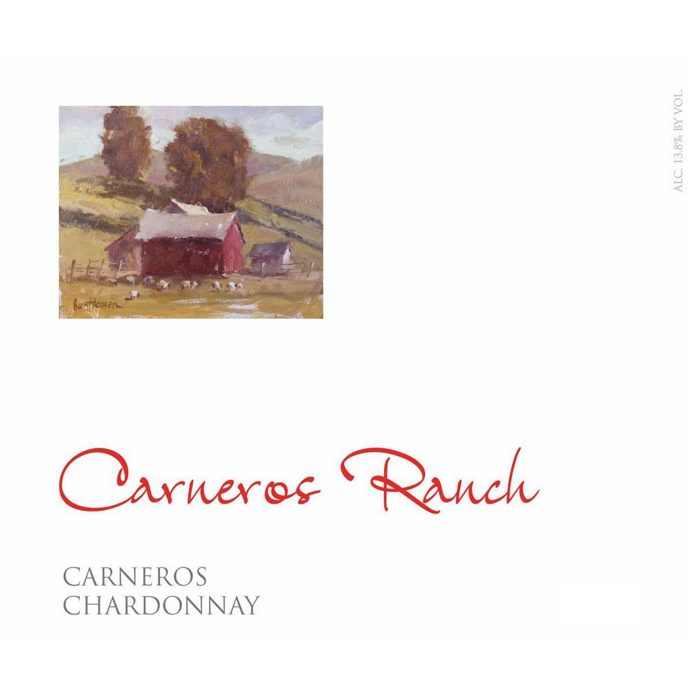 Carneros Ranch Chardonnay 2016 Front Label