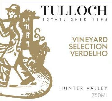 Tulloch Wines Vineyard Selection Verdelho 2016 Front Label