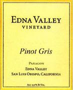 Edna Valley Vineyard Pinot Gris 2000 Front Label