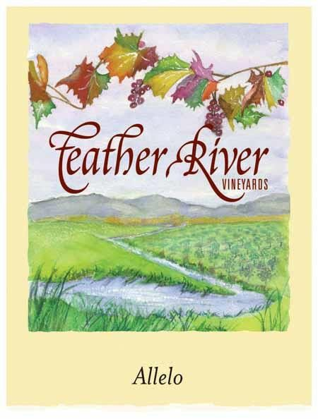 Feather River Vineyards Allelo 2013 Front Label