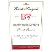 Beaulieu Vineyard Georges de Latour Private Reserve 1992 Front Label