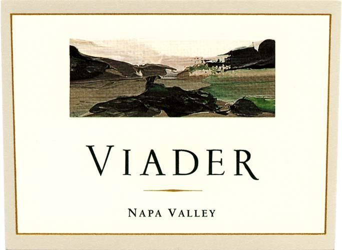 Viader Proprietary Red 2014 Front Label
