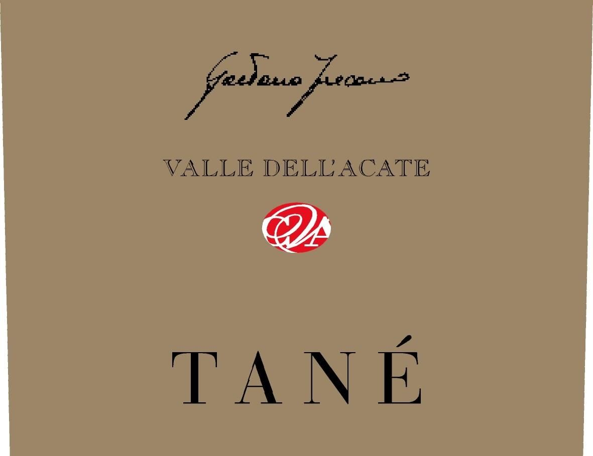 Valle Dell'Acate Tane 2003 Front Label
