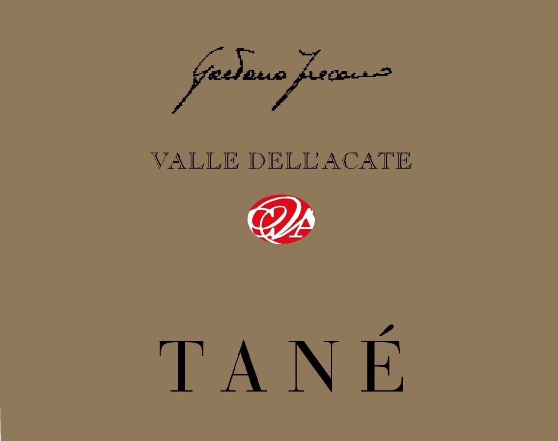 Valle Dell'Acate Tane 2005 Front Label