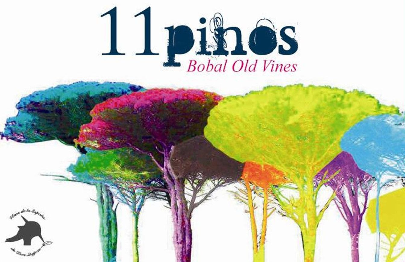 Vega Tolosa 11 Pinos Bobal Old Vines 2011 Front Label
