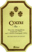 Fattorie Melini Coltri Vineyard 1 1994 Front Label