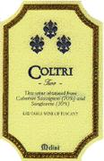 Fattorie Melini Coltri Vineyard 2 1996 Front Label
