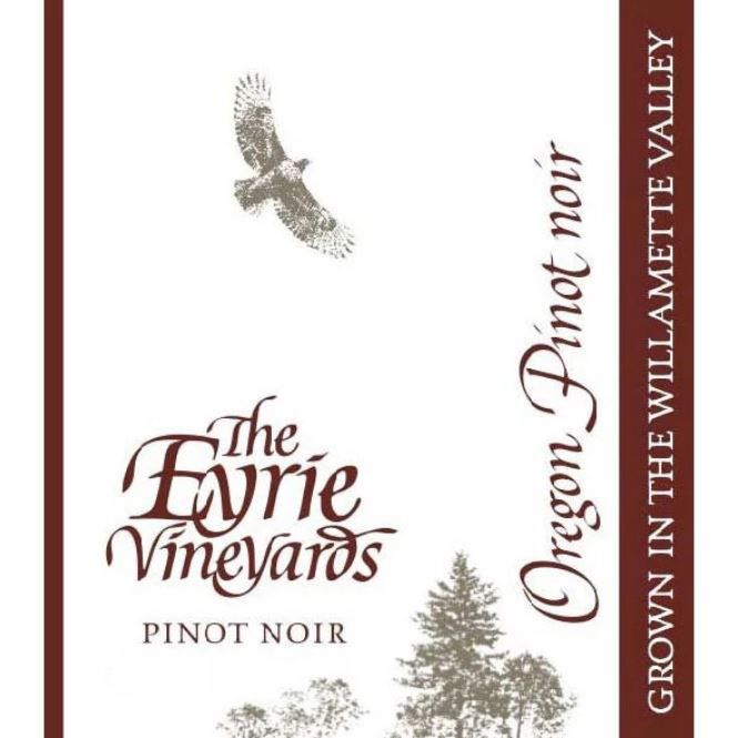 Eyrie Estate Pinot Noir 2015 Front Label