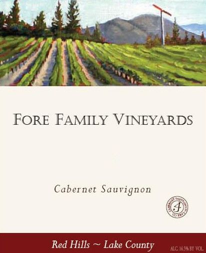Fore Family Vineyards Cabernet Sauvignon 2009 Front Label