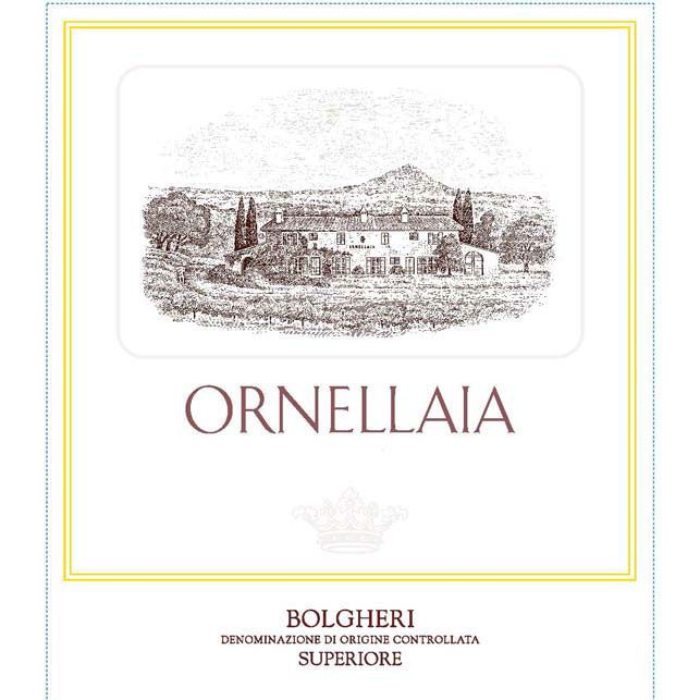 Ornellaia (3 Liter Bottle) 2015 Front Label