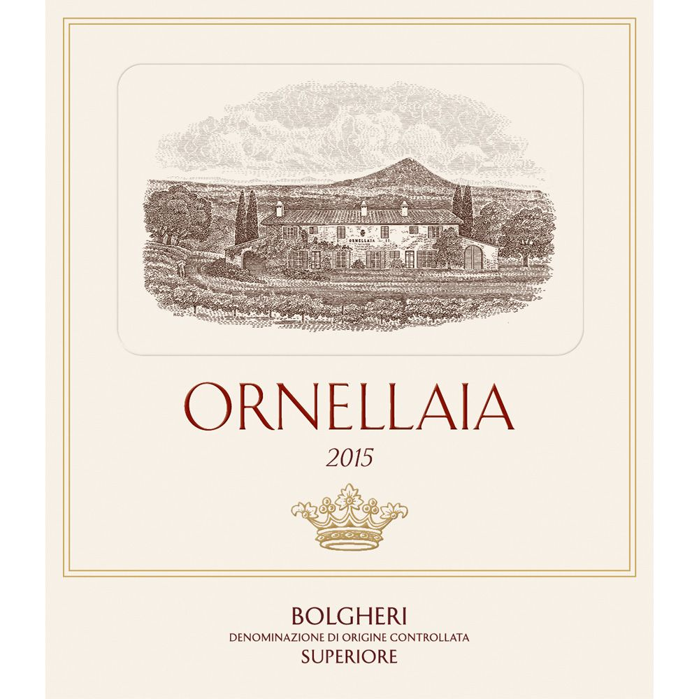 Ornellaia  2015 Front Label