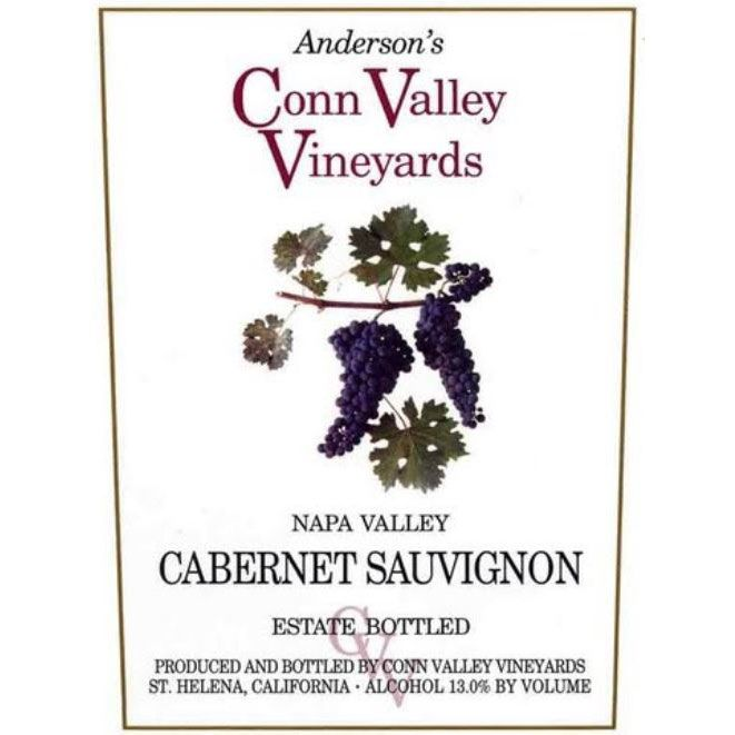 Anderson's Conn Valley Vineyards Cabernet Sauvignon 1994 Front Label