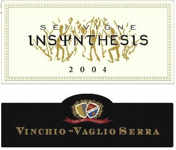 Viticoltori Associati di Vinchio-Vaglio Barbera d'Asti Sei Vigne Insynthesis Superiore 2004 Front Label