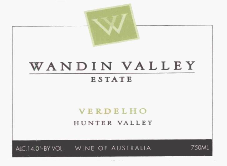 Wandin Valley Estate Verdelho 2004 Front Label