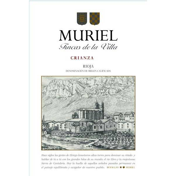 Bodegas Muriel Crianza 2015 Front Label