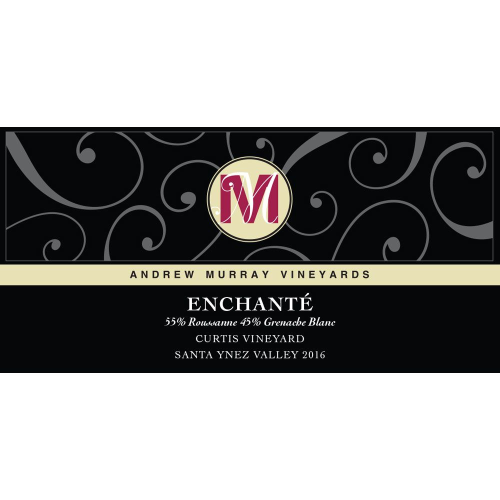 Andrew Murray Enchante 2016 Front Label