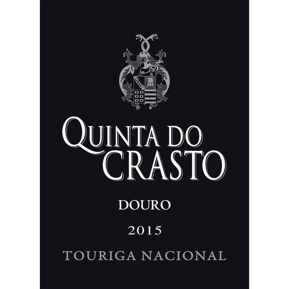 Quinta do Crasto Douro Touriga Nacional 2015 Front Label
