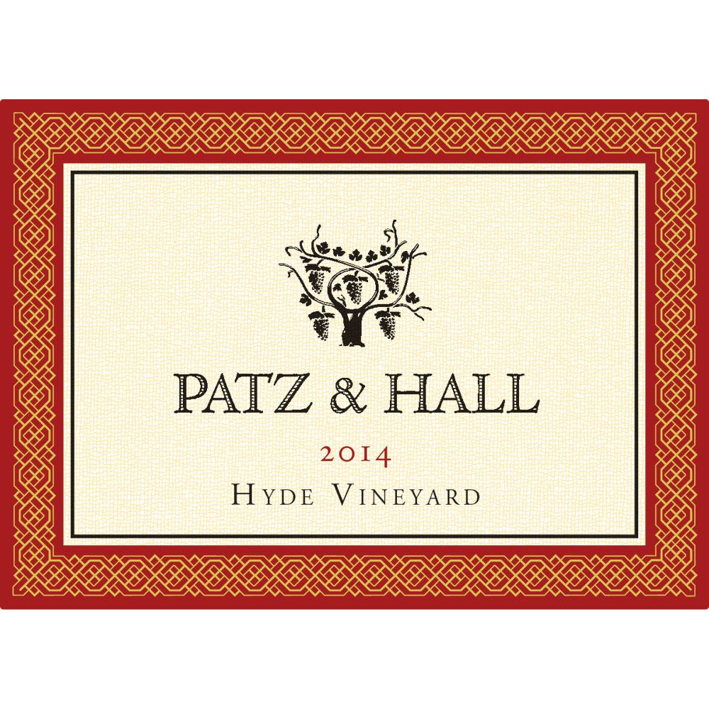 Patz & Hall Hyde Vineyard Pinot Noir (1.5 Liter Magnum) 2014 Front Label
