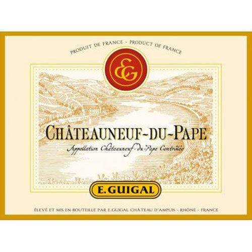 Guigal Chateauneuf-du-Pape (375ML half-bottle) 2013 Front Label