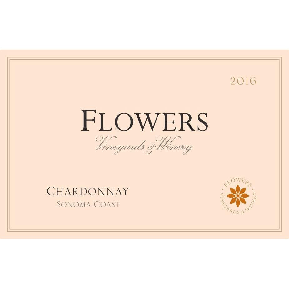 Flowers Sonoma Coast Chardonnay (375ML half-bottle) 2016 Front Label