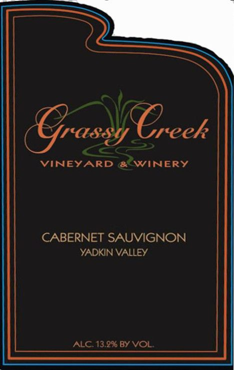 Grassy Creek Vineyard & Winery Cabernet Sauvignon 2009 Front Label