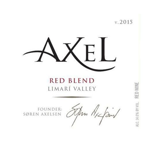 La Playa Axel Red Blend 2015 Front Label