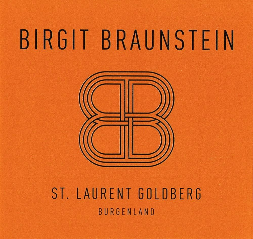 Weingut Birgit Braunstein Goldberg St. Laurent 2011 Front Label