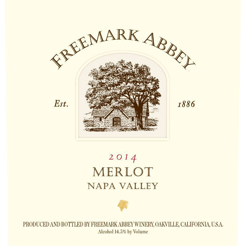 Freemark Abbey Napa Valley Merlot 2014 Front Label