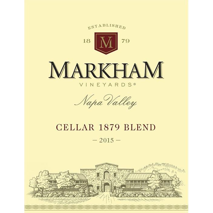 Markham Cellar 1879 Napa Valley Red Blend 2015 Front Label