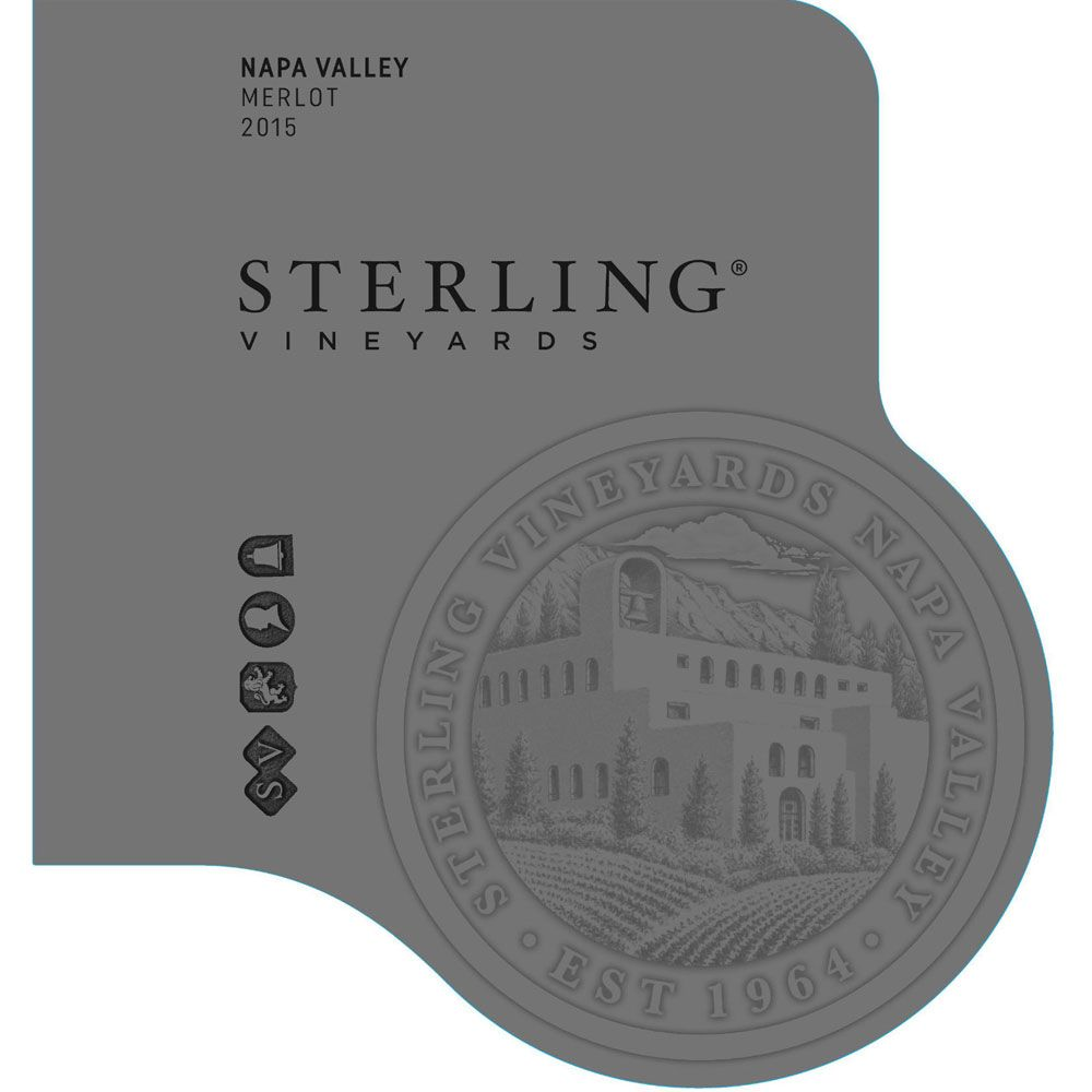 Sterling Napa Merlot 2015 Front Label