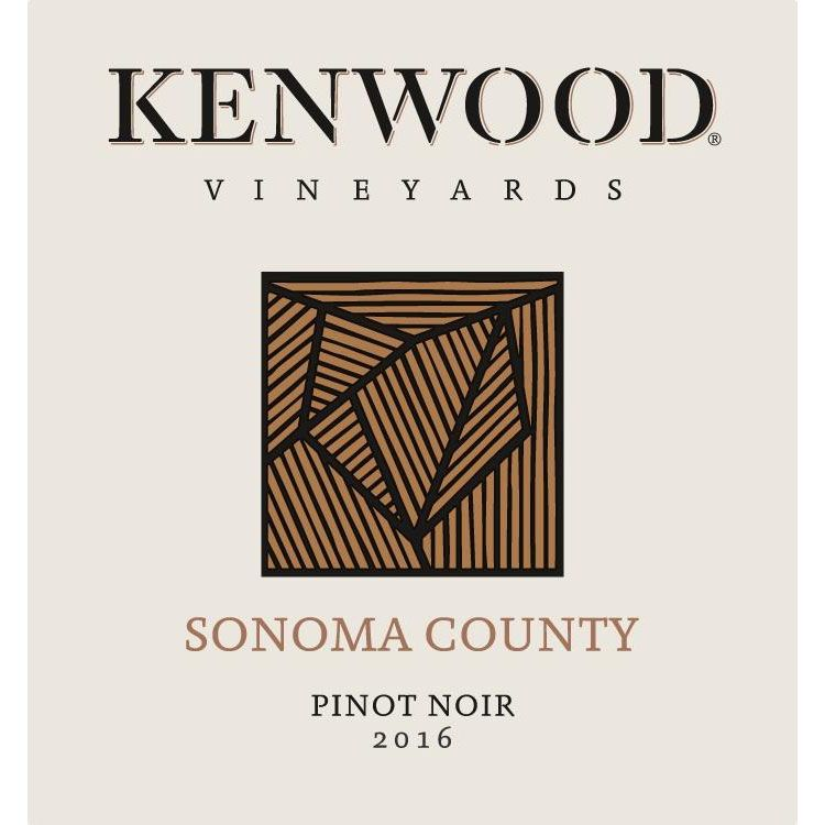 Kenwood Sonoma County Pinot Noir 2016 Front Label