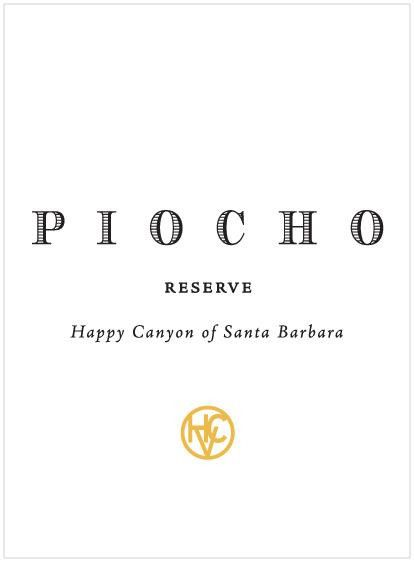 Happy Canyon Vineyards Piocho Reserve 2011 Front Label