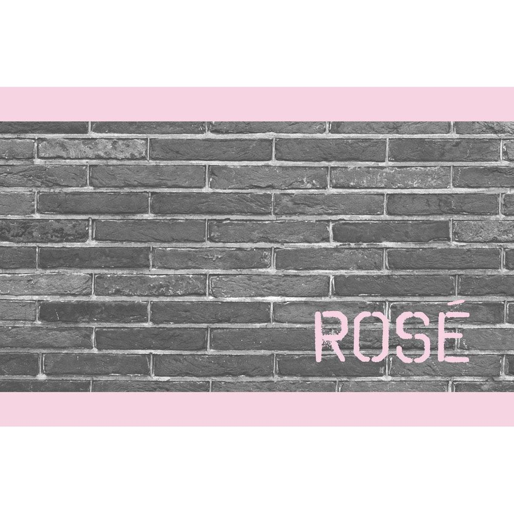 Brick & Mortar Rose 2017 Front Label