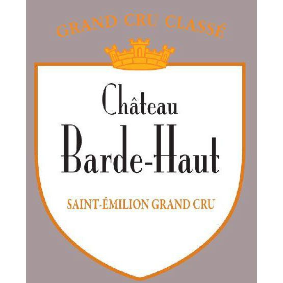 Chateau Barde Haut (Futures Pre-Sale) 2017 Front Label