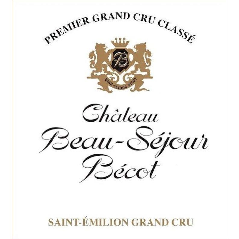 Chateau Beau-Sejour Becot (Futures Pre-Sale) 2017 Front Label