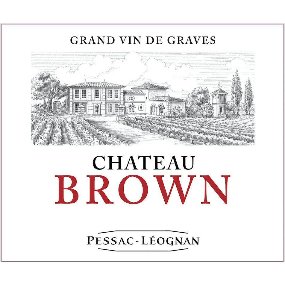Chateau Brown (Futures Pre-Sale) 2017 Front Label