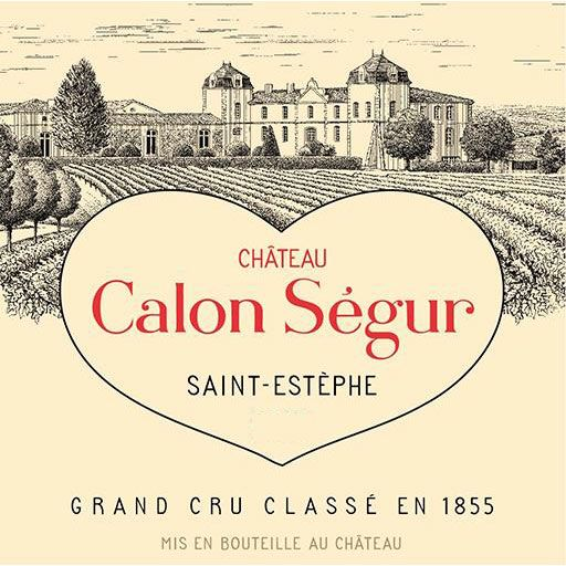 Chateau Calon-Segur (Futures Pre-Sale) 2017 Front Label