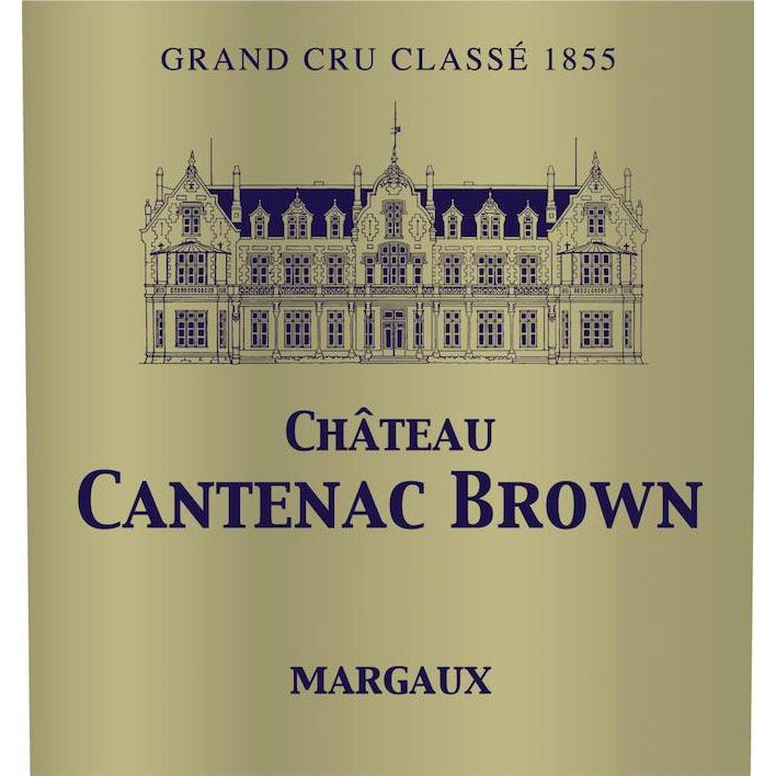 Chateau Cantenac Brown (Futures Pre-Sale) 2017 Front Label