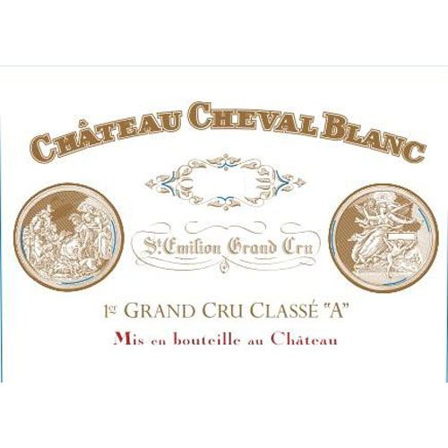 Chateau Cheval Blanc (1.5 Liter Futures Pre-Sale) 2017 Front Label