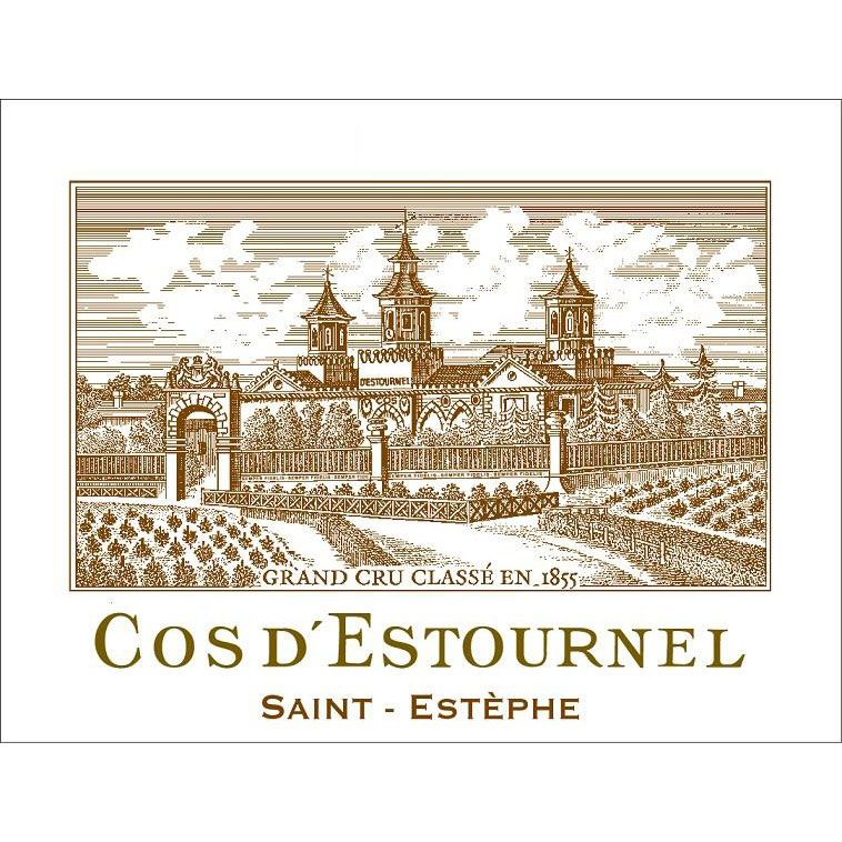 Chateau Cos d'Estournel (1.5 Liter Futures Pre-Sale) 2017 Front Label