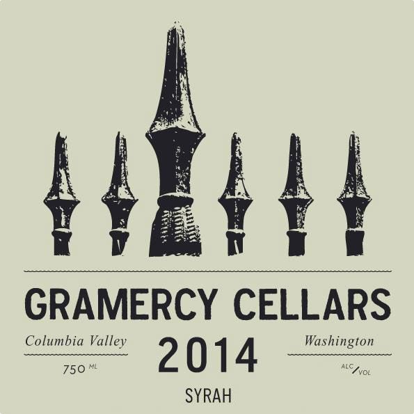 Gramercy Cellars Columbia Valley Syrah 2014 Front Label