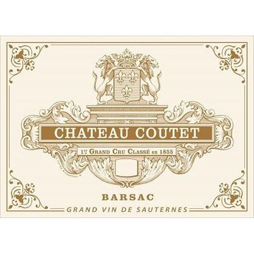 Chateau Coutet (Futures Pre-Sale) 2017 Front Label