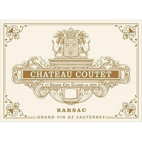 Chateau Coutet (375ML Futures Pre-Sale) 2017 Front Label