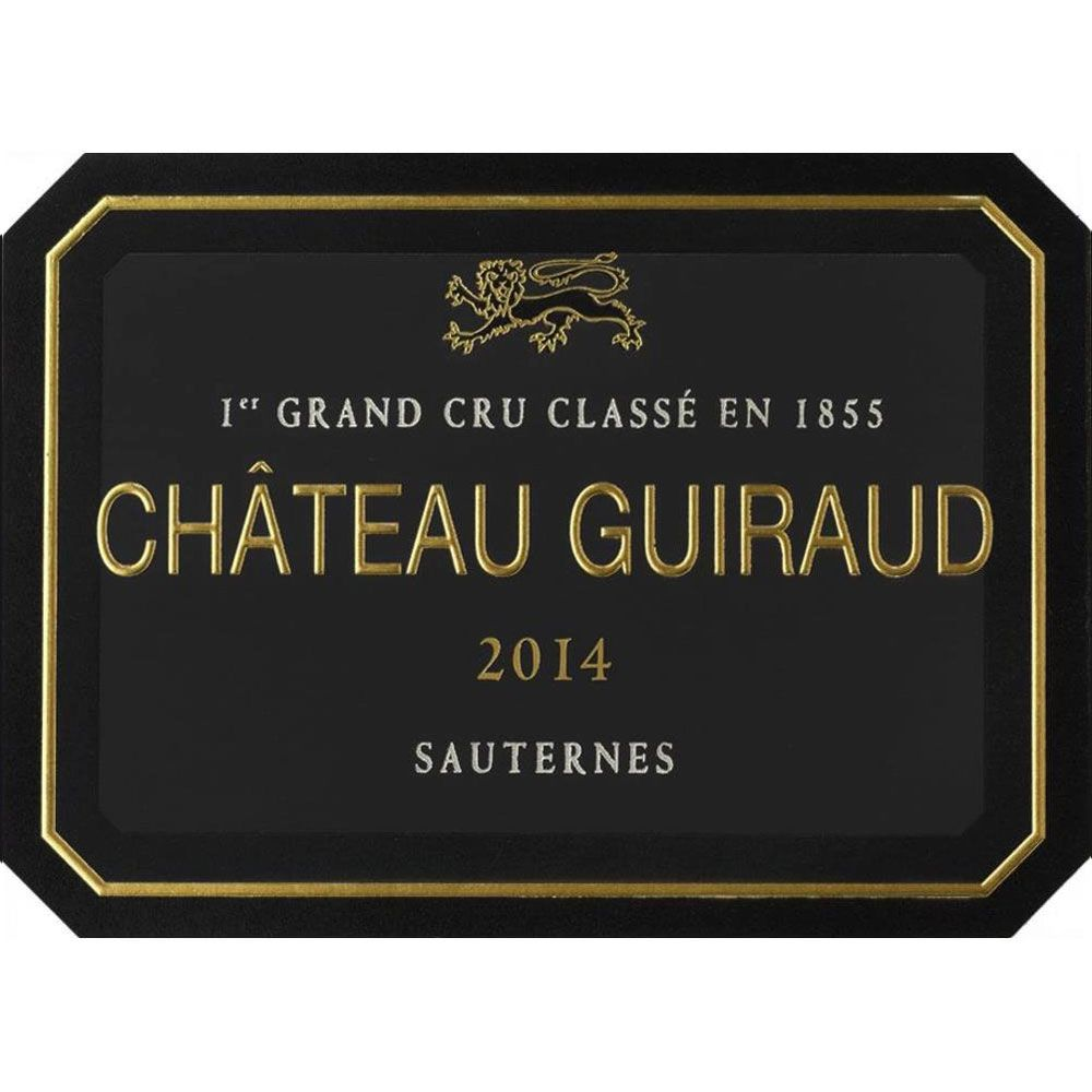 Chateau Guiraud Sauternes (375ML Futures Pre-Sale) 2017 Front Label