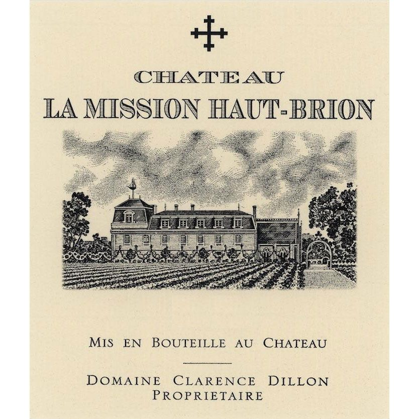 Chateau La Mission Haut-Brion (Futures Pre-Sale) 2017 Front Label