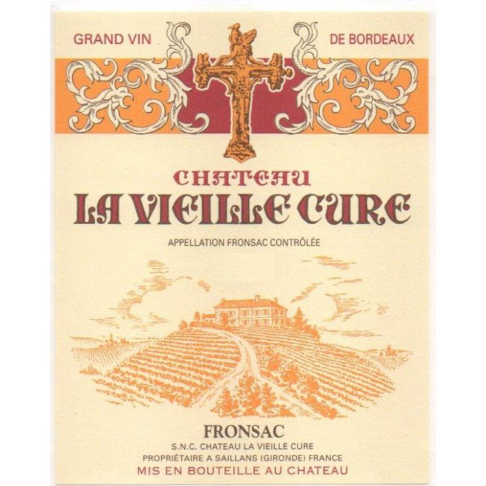 Chateau La Vieille Cure (Futures Pre-Sale) 2017 Front Label