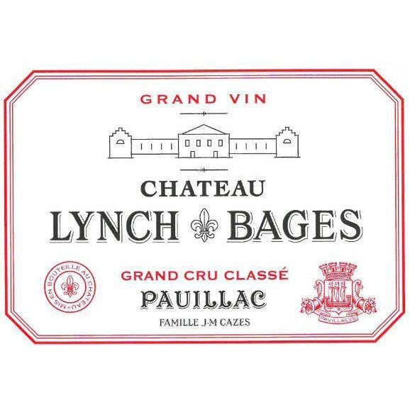 Chateau Lynch-Bages (1.5 Liter Futures Pre-Sale) 2017 Front Label