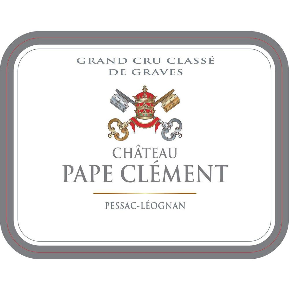 Chateau Pape Clement (Futures Pre-Sale) 2017 Front Label